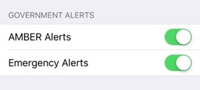 amber alert iphone sound why did an alert appear on my iphone ianswerguy 5345