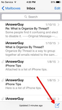Create New Email