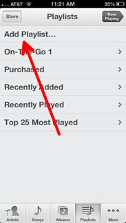 Add Playlist