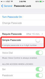 Use an Alphanumeric Passcode on Your iPhone or iPad - iAnswerGuy