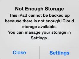 iCloud Storage Limit
