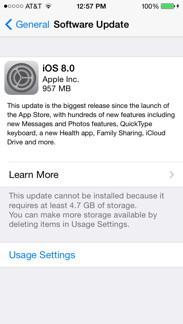 iOS8 Install
