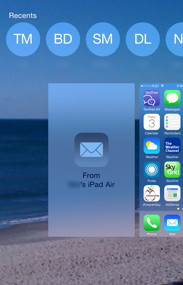App Switcher Handoff