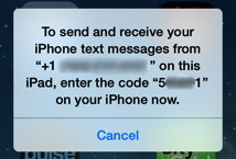 How to Receive SMS Text Messages on an iPad - iAnswerGuy