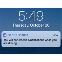 Do Not Disturb Alert