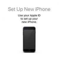 Setup New iPhone
